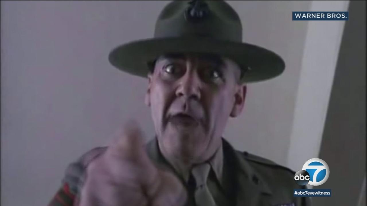 Actor R. Lee Ermey, best known for his role as a tough drill instructor in Full Metal Jacket has died at age 74, his manager announced Sunday.