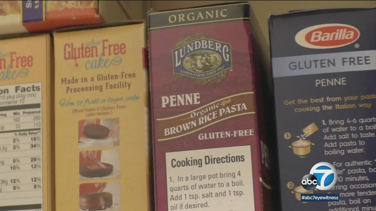 Gluten-free pastas and other products will be offered at an expo in Pasadena this weekend.