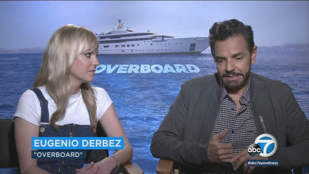 Eugenio Derbez and Anna Faris star in remake of the 1987 romantic comedy Overboard.
