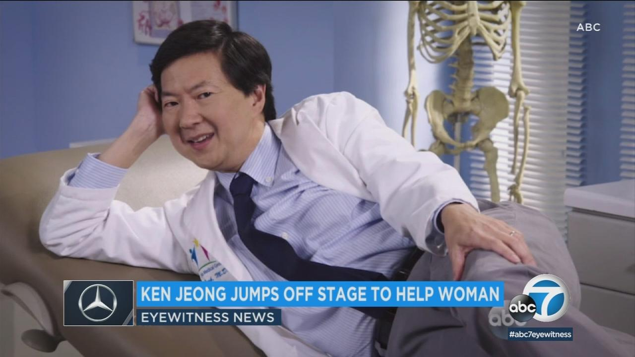 Ken Jeong is see in a promotional photo for Dr. Ken.