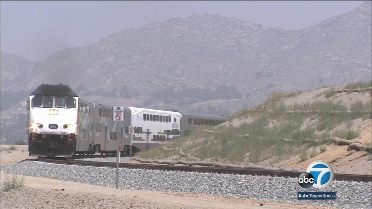 A planned train extension project will offer 25 round trips per day between Redlands and San Bernardino, plus a train for commuters heading for Los Angeles.