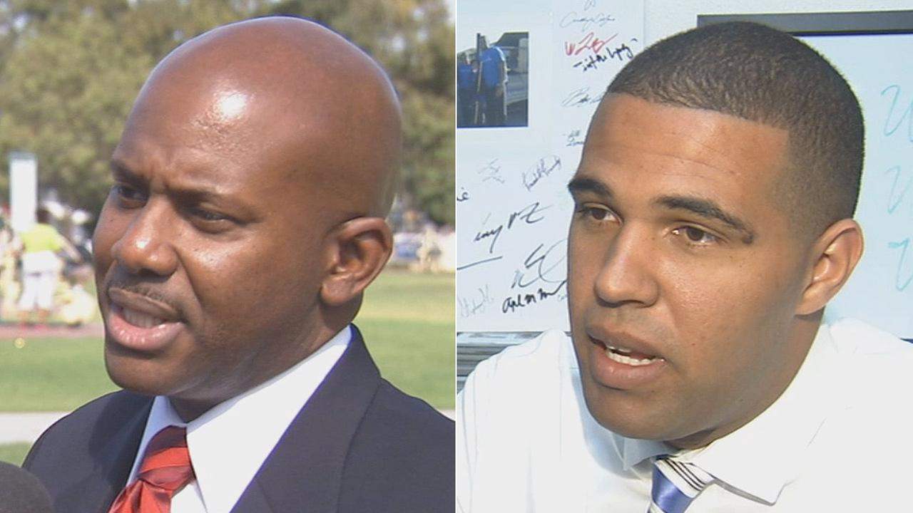 Two Democrats, Mike Gipson and Prophet Walker, are running for Californias 64th Assembly District.
