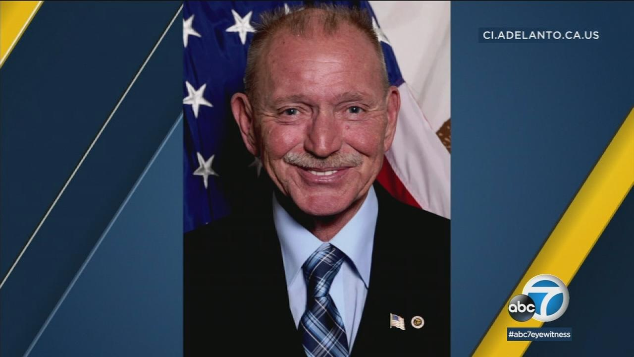 Adelanto Mayor Rich Kerr was detained by the FBI after agents searched both his home and City Hall Tuesday, sources told Eyewitness News.