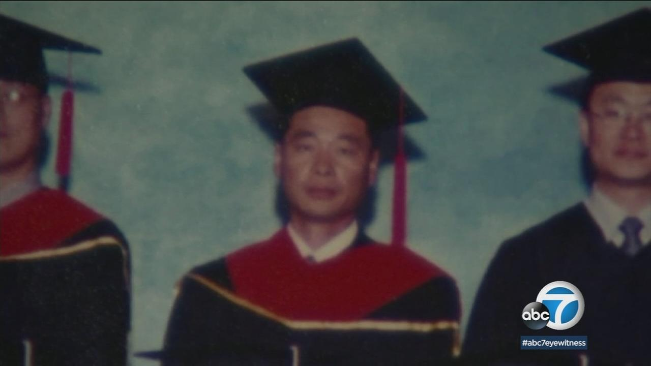 Kim Hak Song, one of three Korean-Americans who was detained in North Korea, is shown in a photo.