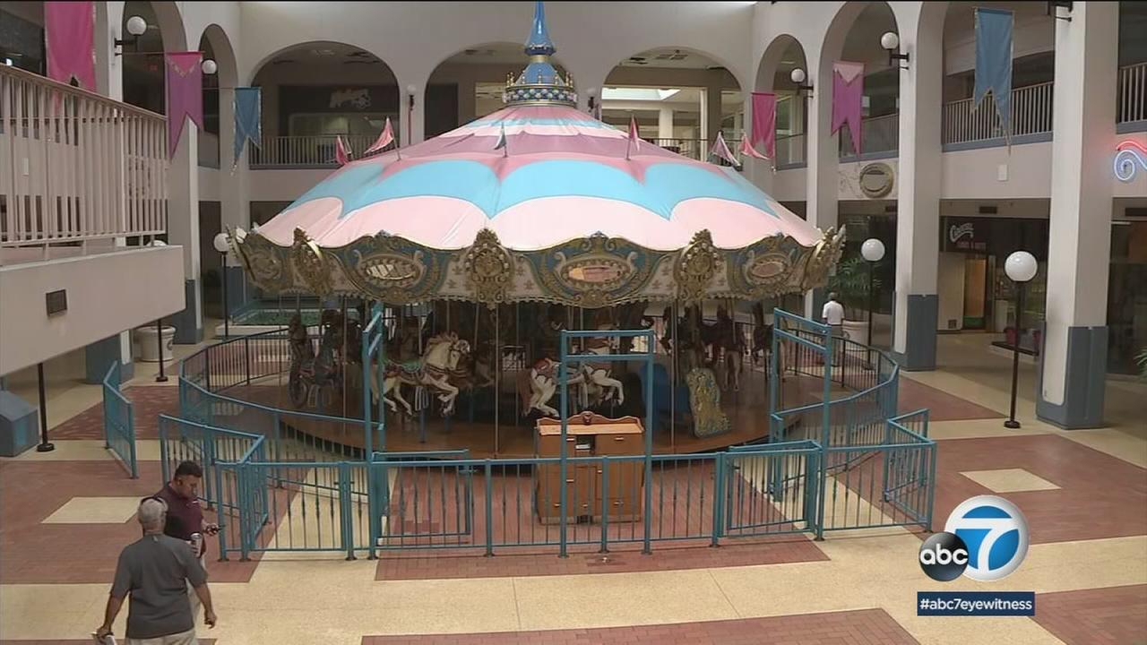 The 36-foot carousel that has been the centerpiece of San Bernardinos Carousel Mall is heading for the auction block.
