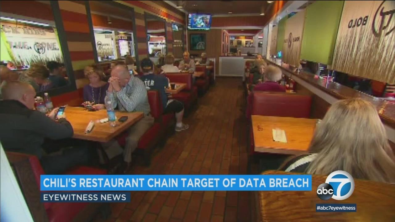 Chili says customer credit card information may have been exposed during a data breach, and did not reveal which restaurants were affected.