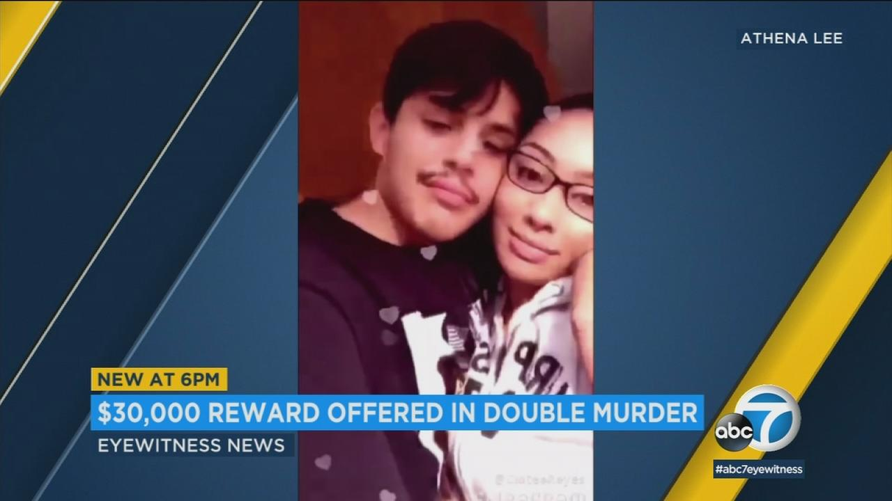 A teen couple, identified as Andrew Chavez and Clotee Reyes, are shown in an undated social media photo.