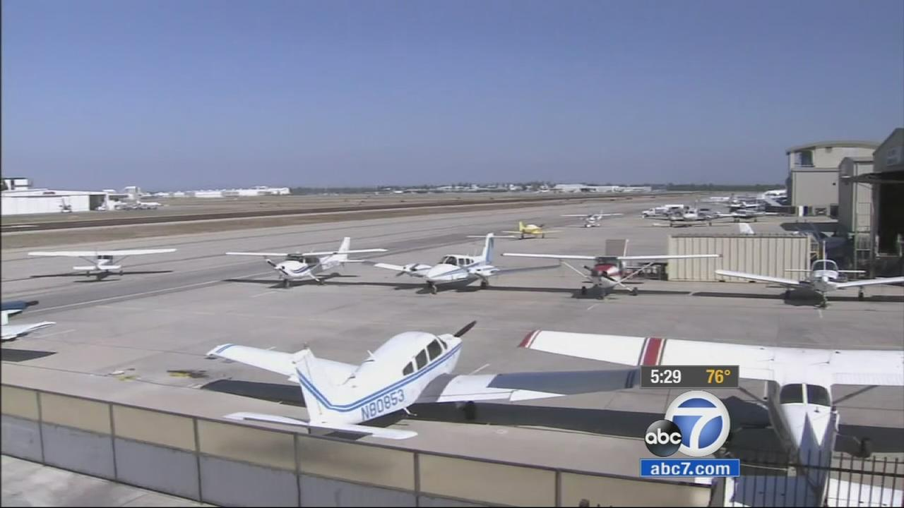 A group of Indonesia men are left hoping to find a way to obtain their commercial pilot license after their flight school in Long Beach shuts down.