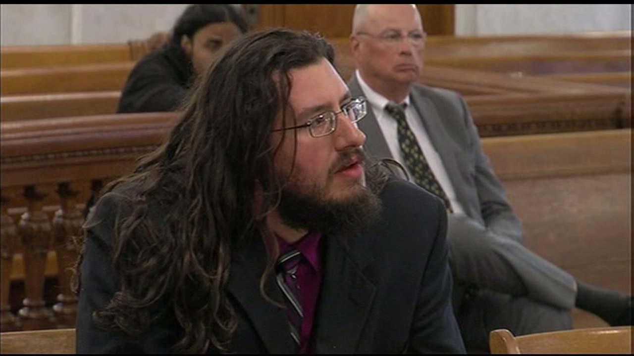 Michael Rotondo is seen in court on Tuesday, May 22, 2108.