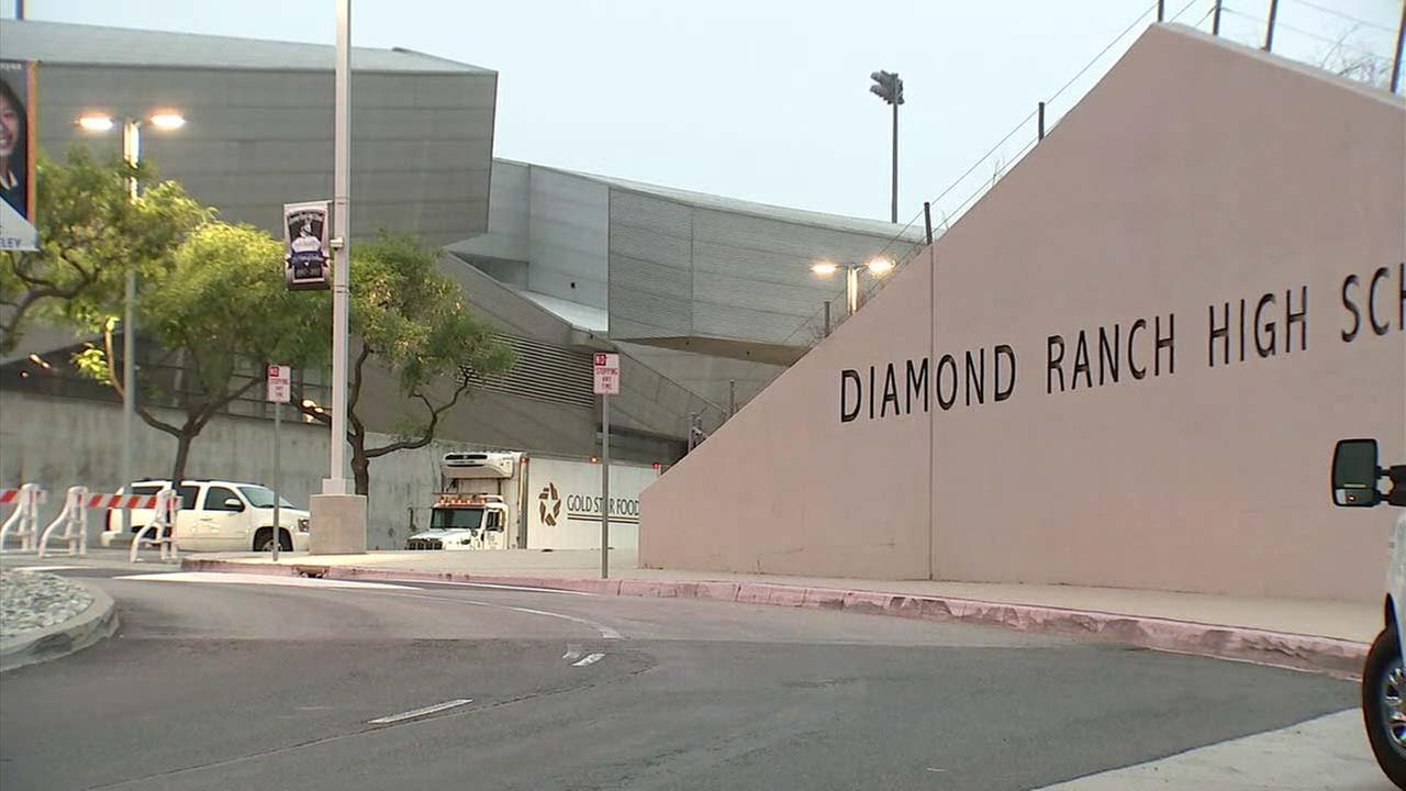 Diamond Ranch High School in Pomona.