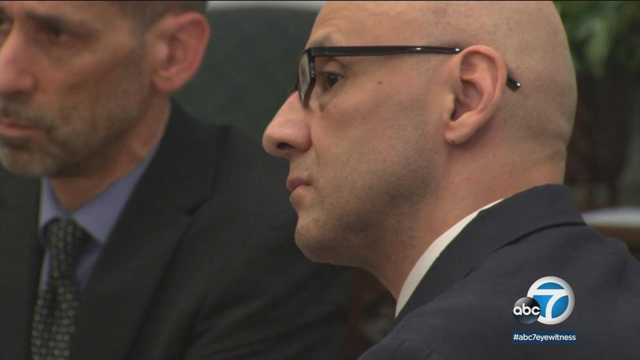 Serial killer Andrew Urdiales seen in court on Wednesday, May 23, 2018.