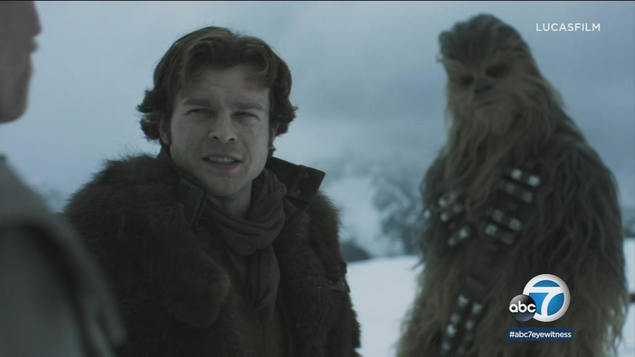 Actor Alden Ehrenreich says starring in Solo: A Star Wars Movie has made him a hero to his nieces and nephews.