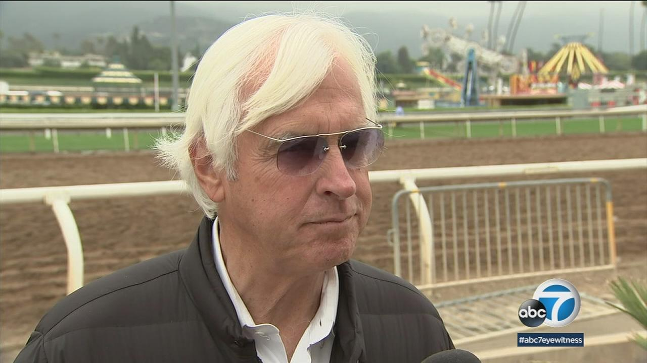 Trainer Bob Baffert is hoping to make history as he looks for his second Triple Crown in four years.