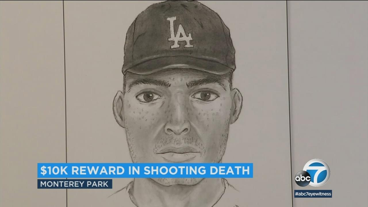 Sheriffs detectives on Thursday announced a $10,000 reward in the case of a 20-year-old man who was shot and killed before his vehicle crashed last month in El Monte.