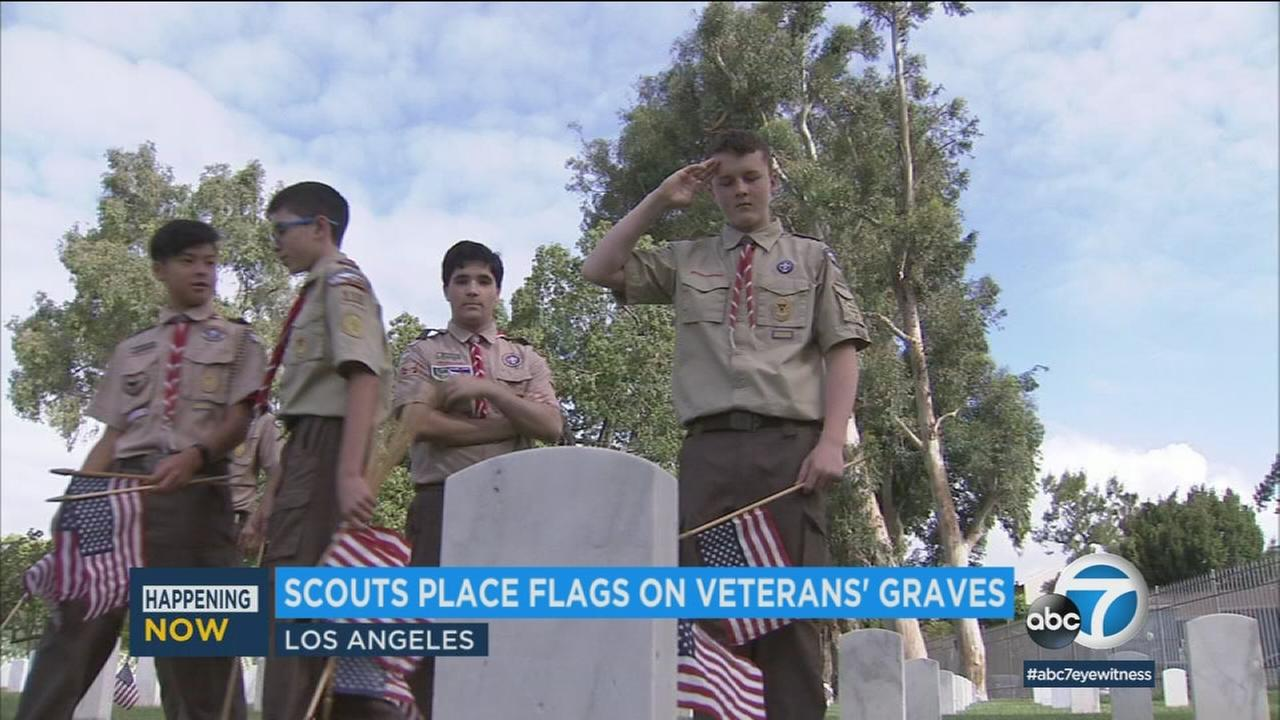 052618-kabc-8am-memorial-day-flags-vid