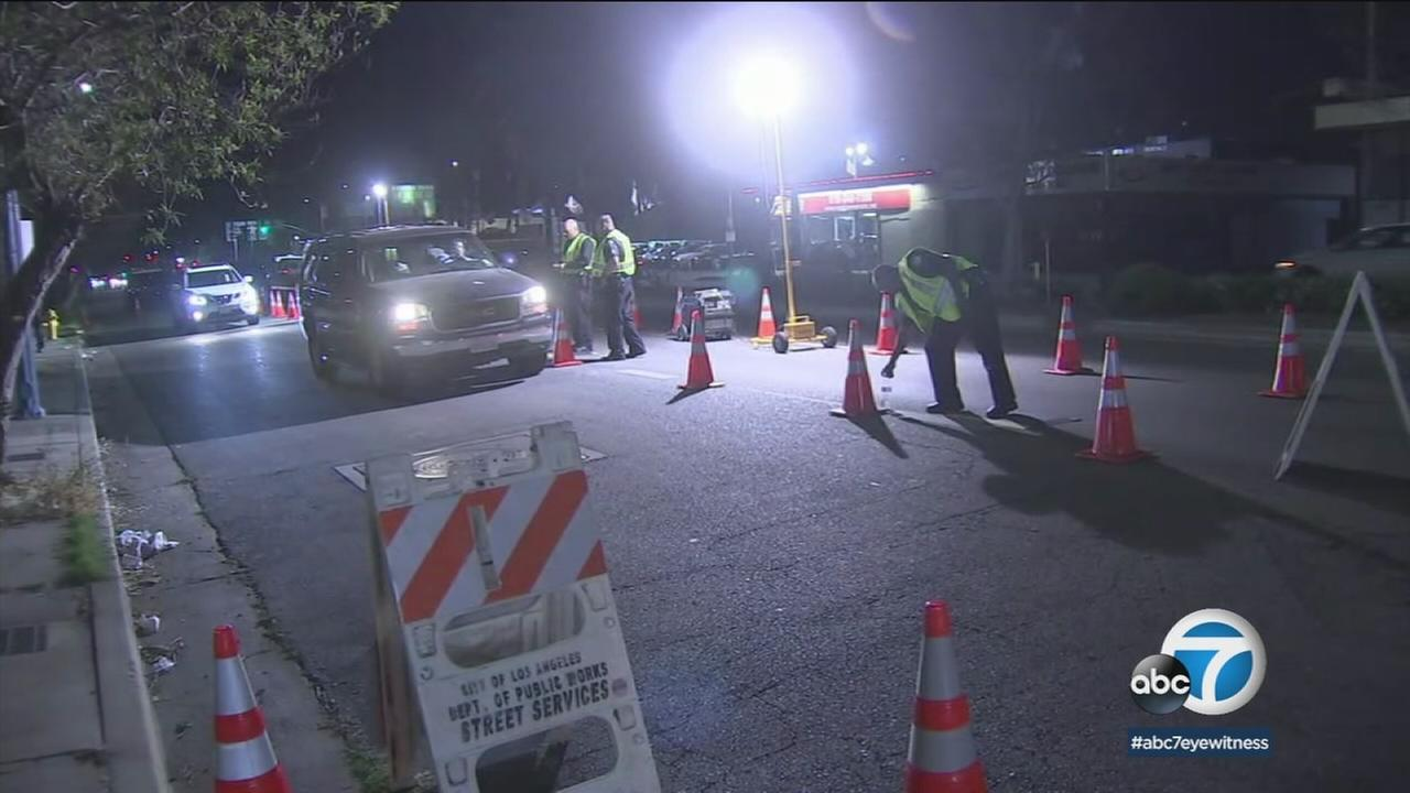 Police are setting up checkpoints all around the Southland this weekend looking for drivers who may have been drinking over the Memorial Day break.