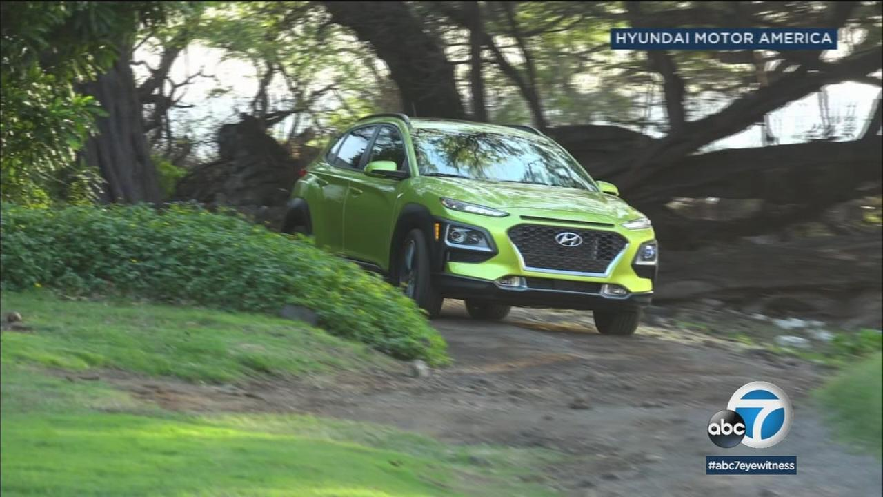 The Kona is Hyundais entry into the growing compact SUV market.