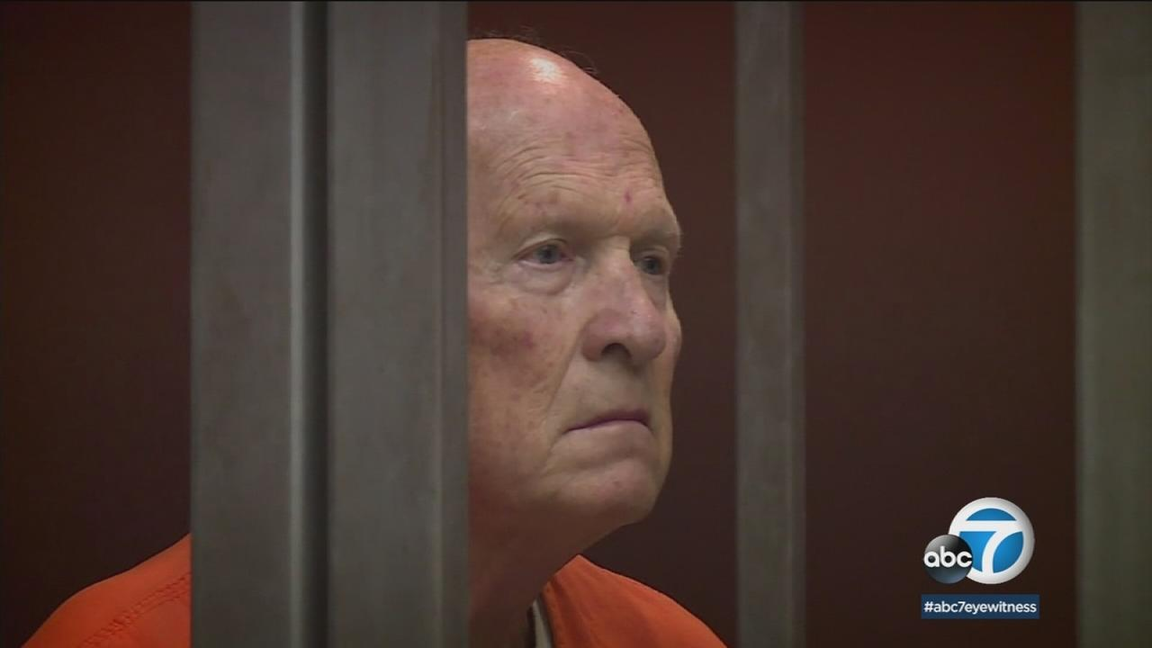 Joseph DeAngelo is shown during a court hearing.