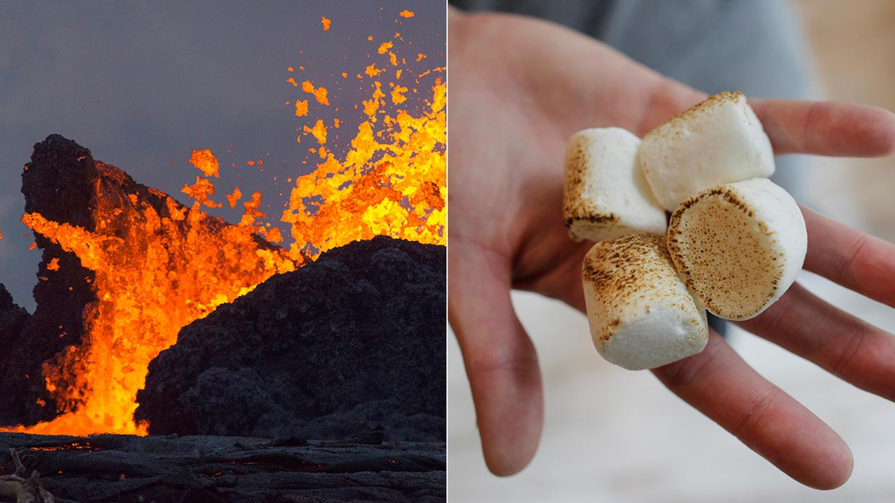 The U.S. Geological Survey took a lighter tone as it responded to a question on Twitter about whether it would be safe to roast marshmallows over volcanic vents.