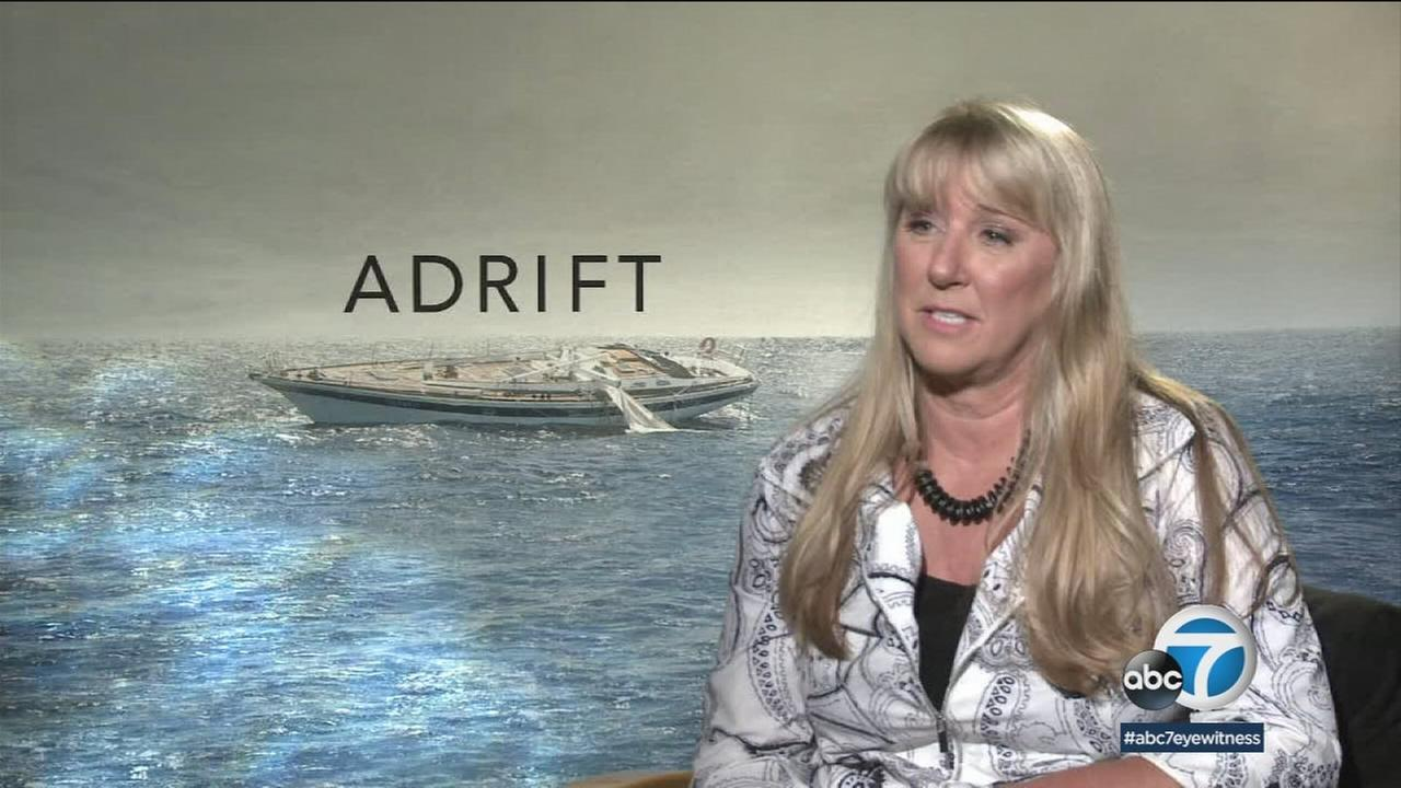 Adrift and alone for 41 days at sea: A womans harrowing true life tale comes to the big screen.