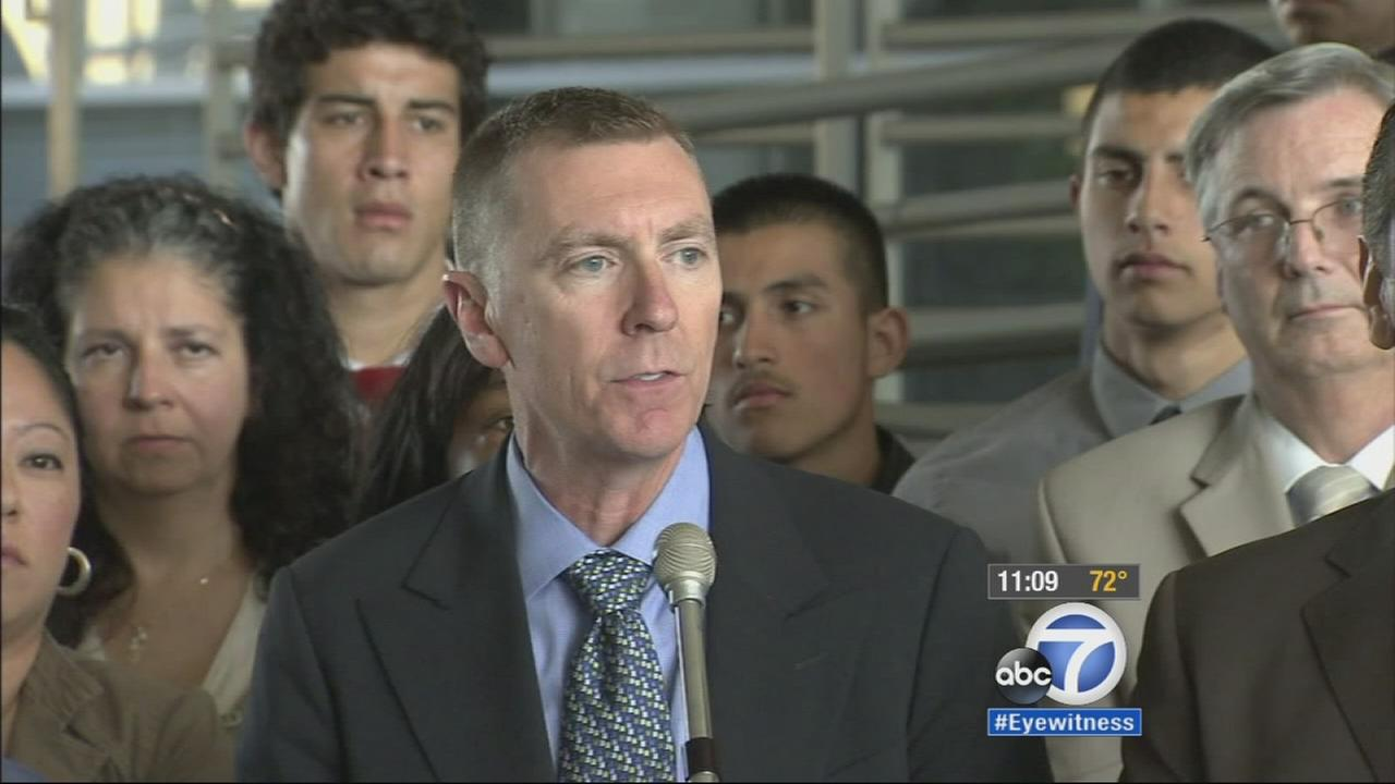 John Deasy, former LAUSD superintendent, is seen in this undated file photo.