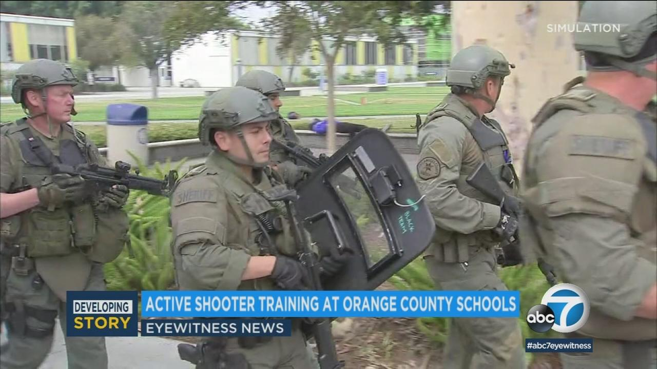 The OC Board of Supervisors voted Tuesday on a three-year, $4 million active shooter training program for teachers and school officials.