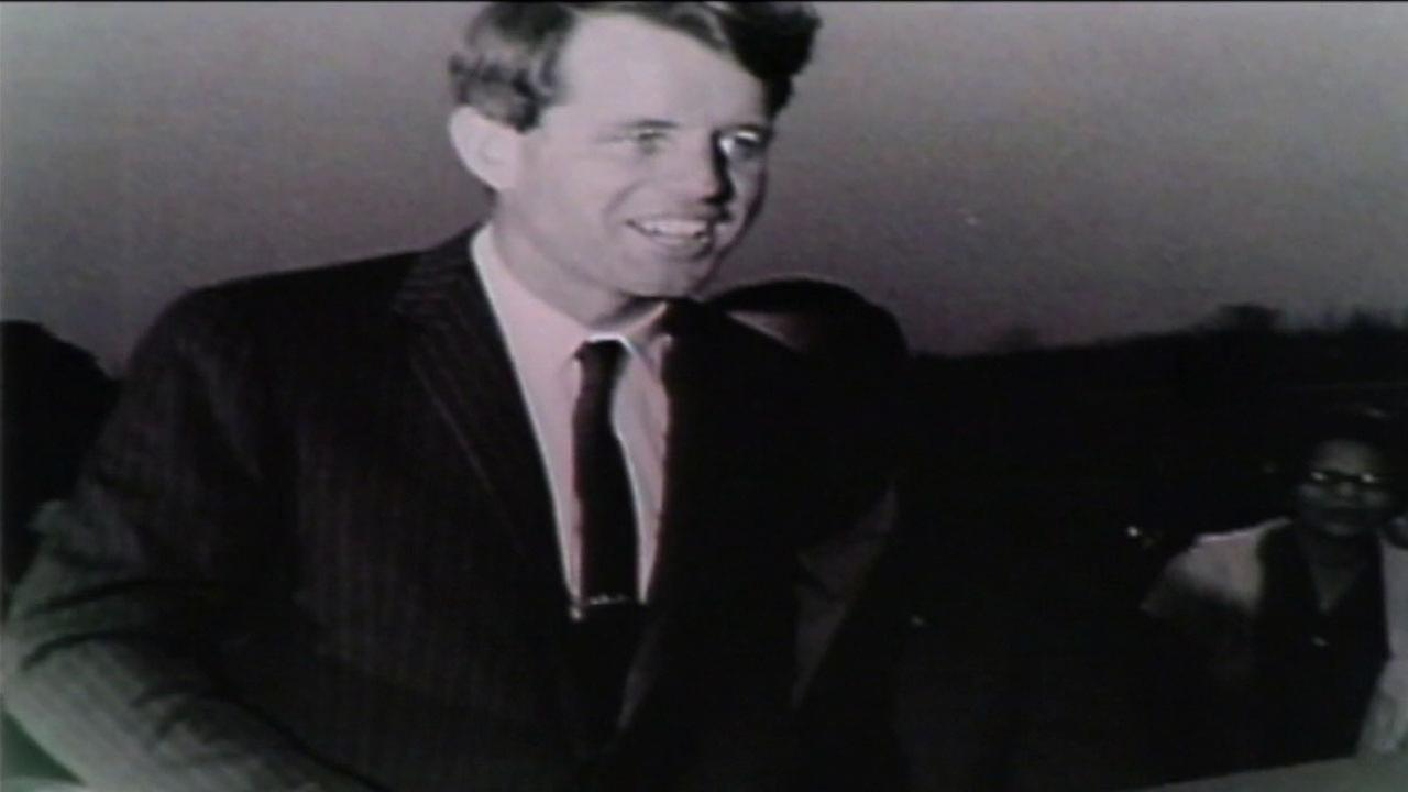 Robert F. Kennedy was campaigning in Los Angeles when he was assassinated in 1968.