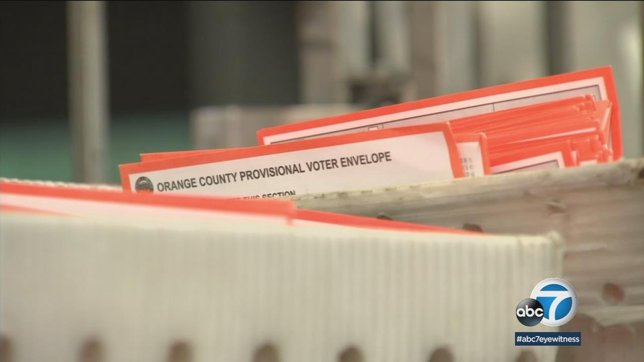 The Orange County Registrar of Voters says there are thousands of ballots still to be counted following Tuesdays California primary election.