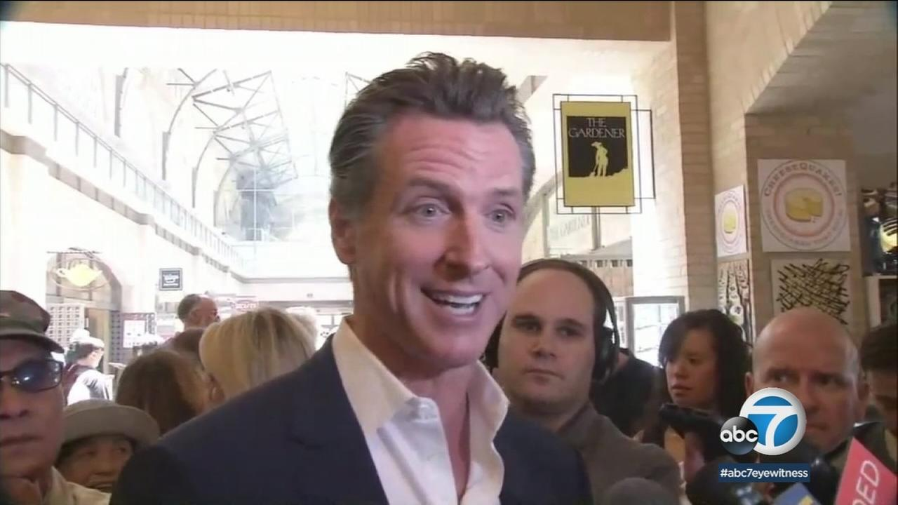 California governor candidates Gavin Newsom and John Cox addressed top priorities a day after their primary wins.