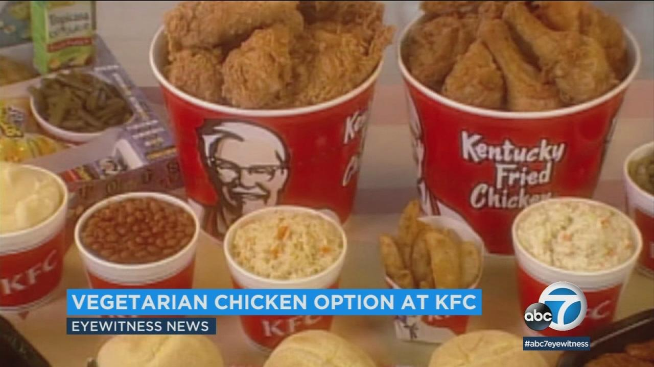 KFC in the UK announced a plan to introduce a vegetarian fried chicken, and it will hit the menu next year.
