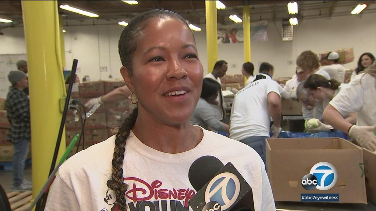 Disney employees participated in a Day of Service as part of the Walt Disney Companys Global Week of Service.