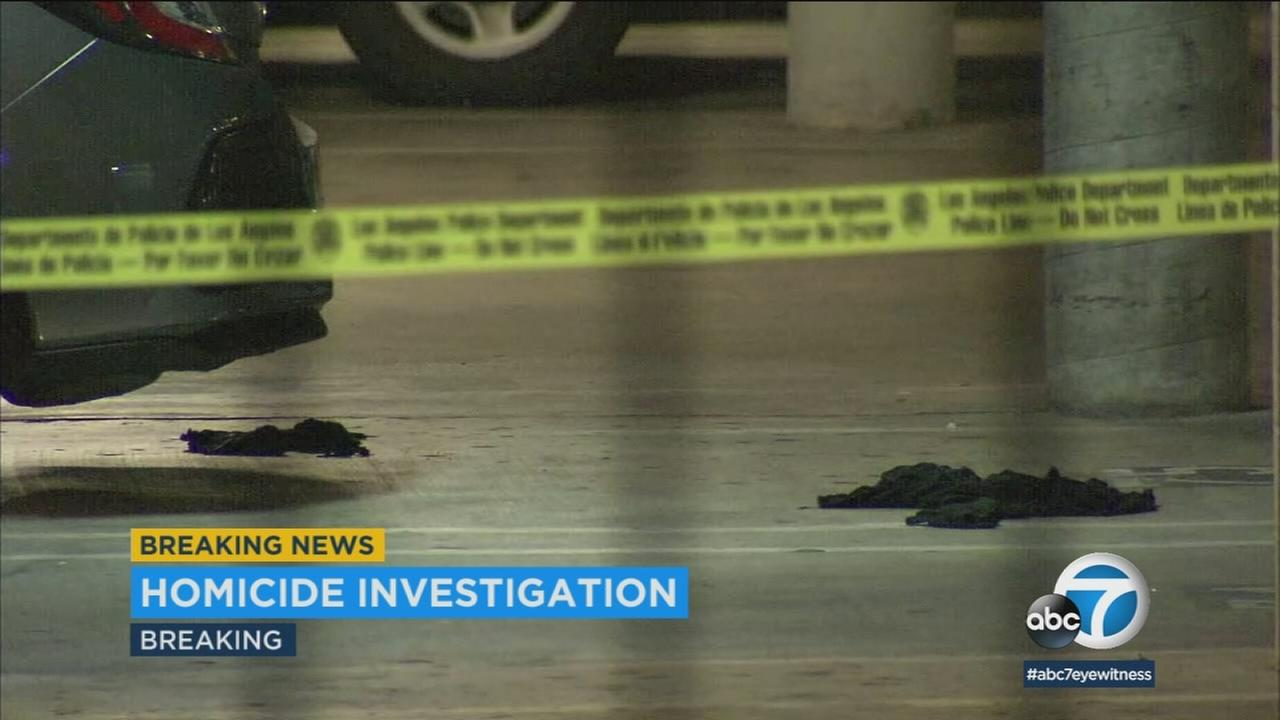 Police are looking for a suspect in the fatal shooting of a man in Reseda.