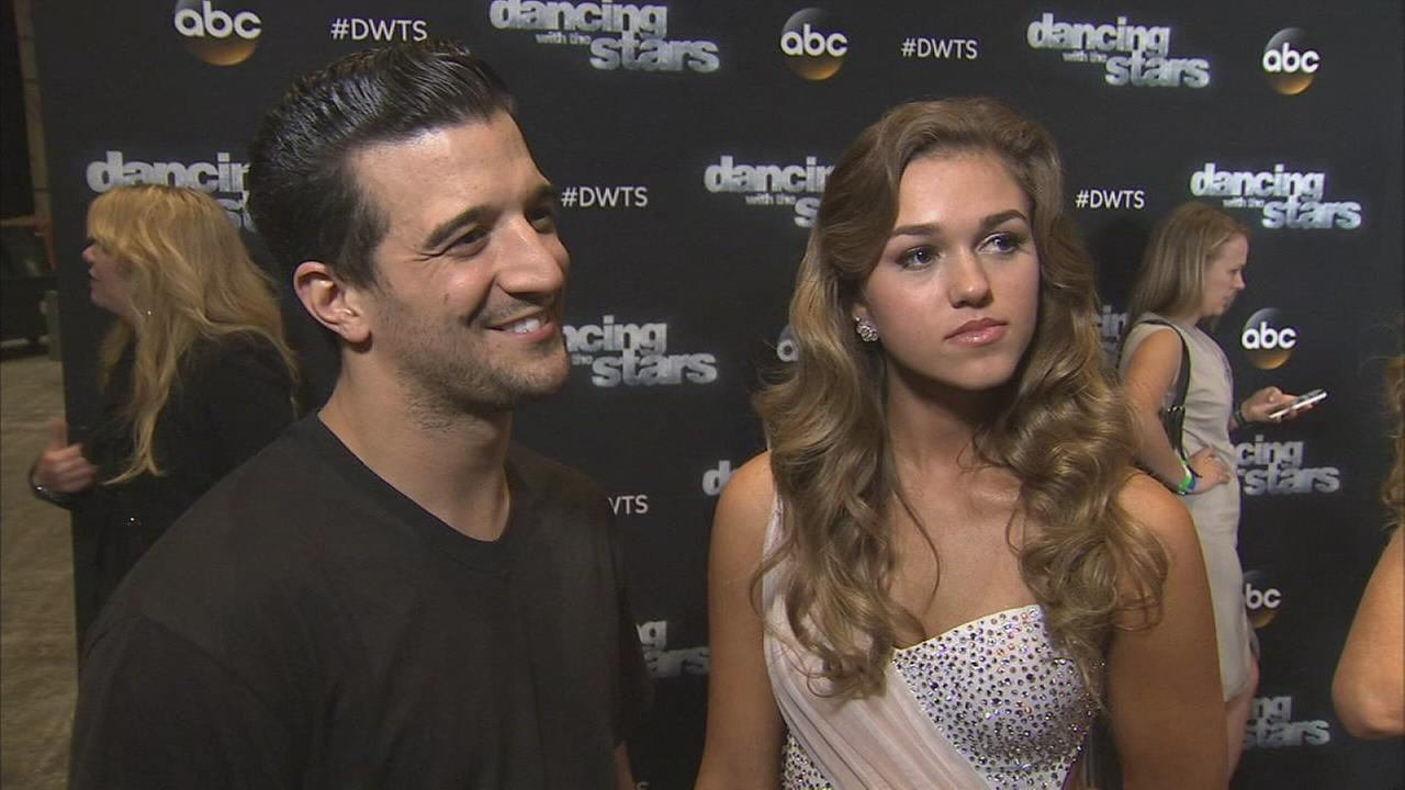 Sadie Robertson and Mark Ballas on Dancing With The Stars week 6 on Monday, Oct. 20, 2014.