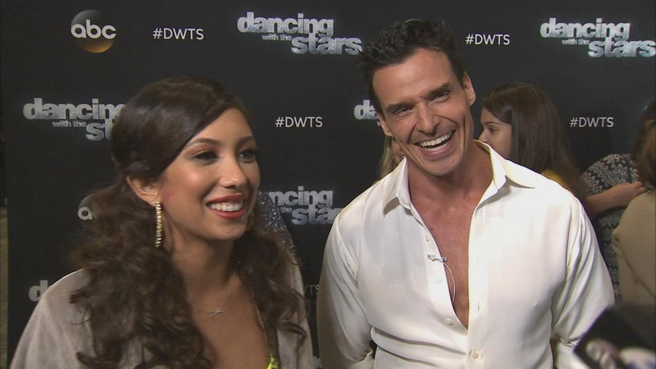 Antonio Sabato Jr. and Cheryl Burke on Dancing With The Stars week 6 on Monday, Oct. 20, 2014.