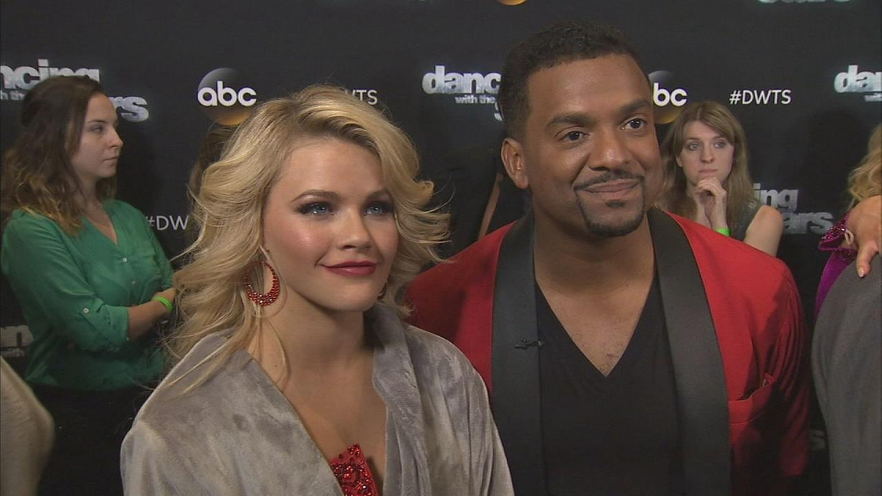 Alfonso Ribeiro and Witney Carson on Dancing With The Stars week 6 on Monday, Oct. 20, 2014.