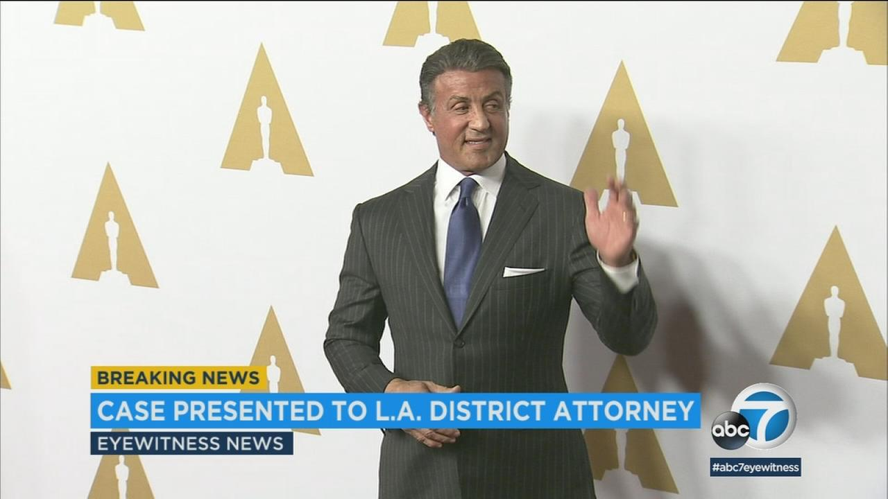 The Los Angeles County District Attorneys Office is reviewing a sexual assault case against actor Sylvester Stallone.