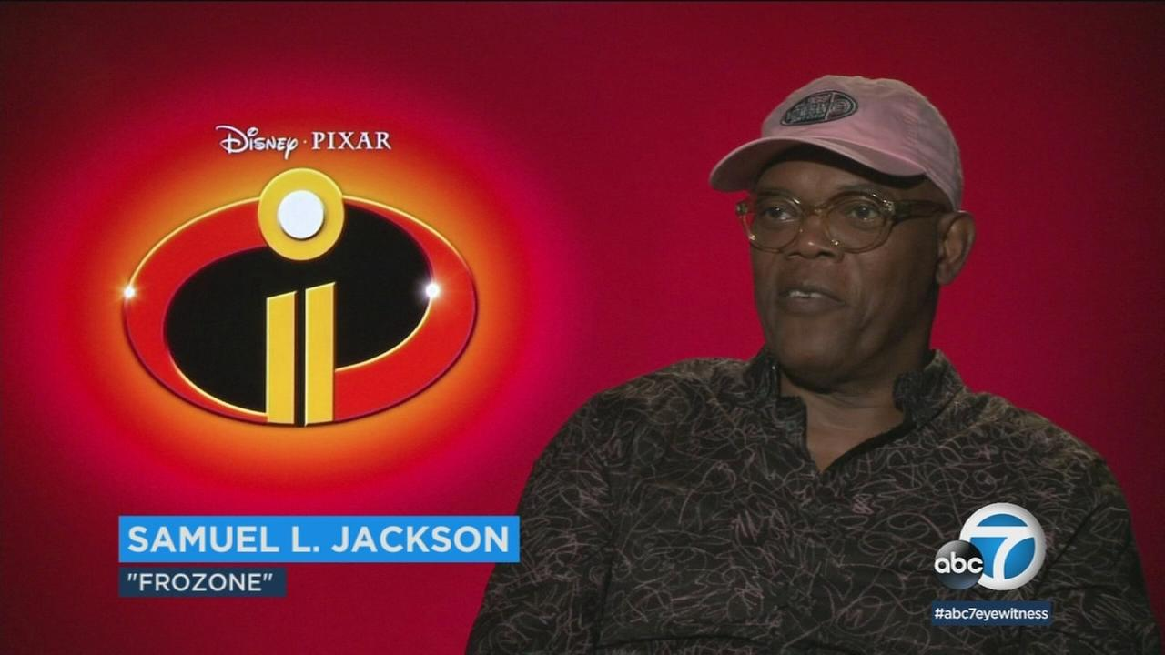 Samuel L. Jackson hopes to introduce a whole new generation to the animated world of Incredibles 2.