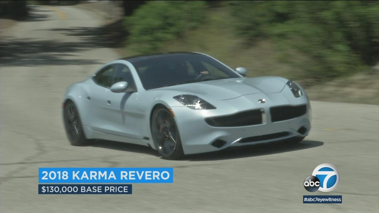 The plug-in Karma Revero represents a second chance for the exotic car designs dreamed up by now-bankrupt Fisker Automotive.