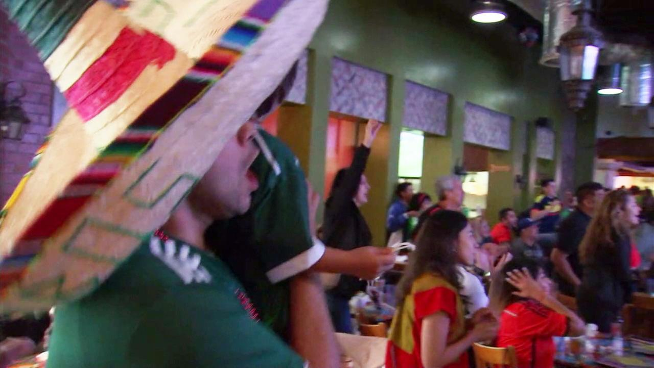 Mexico vs Germany: It was one of the most anticipated World Cup matchups, and local fans were up early to show their support on Sunday.