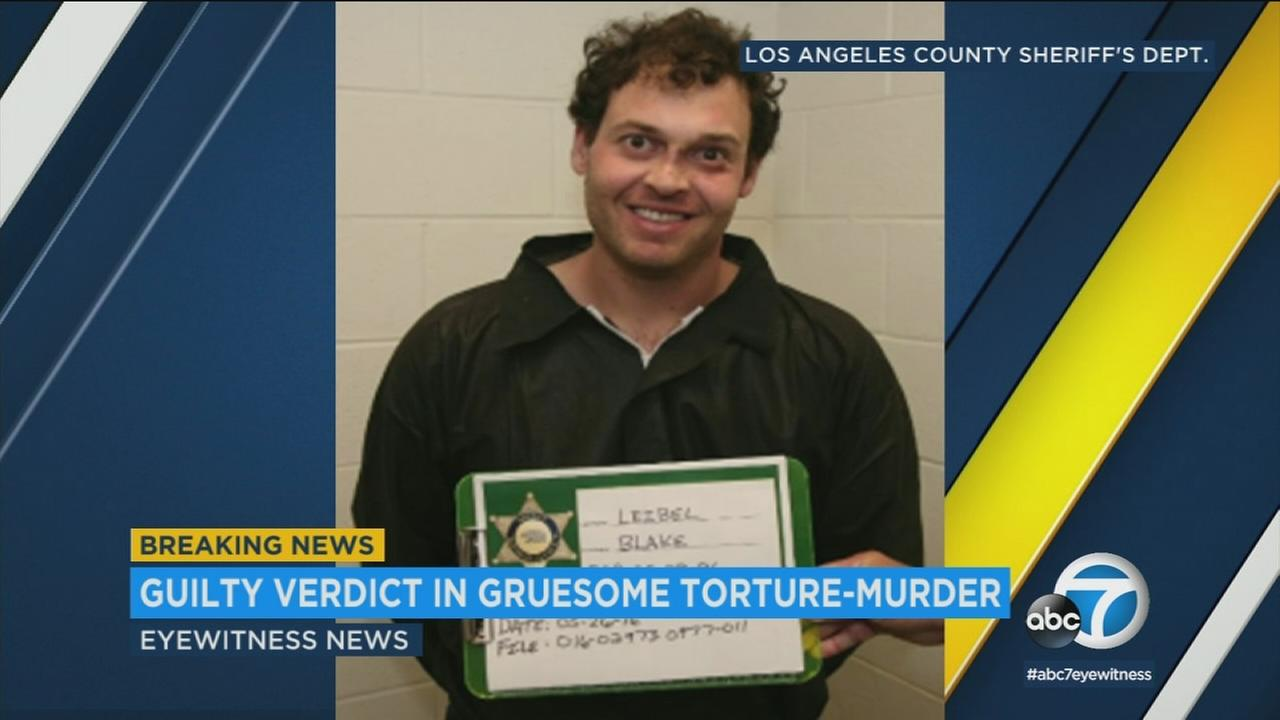 Blake Leibel has been convicted of killing Iana Kasian at the couples West Hollywood apartment in 2016.