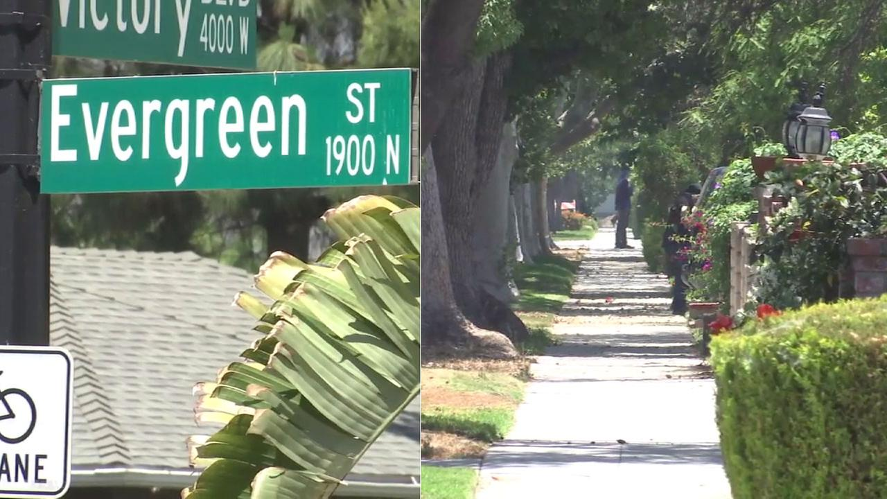 A Burbank neighborhood near the airport has been named in a survey as one of the nicest places to live in America.