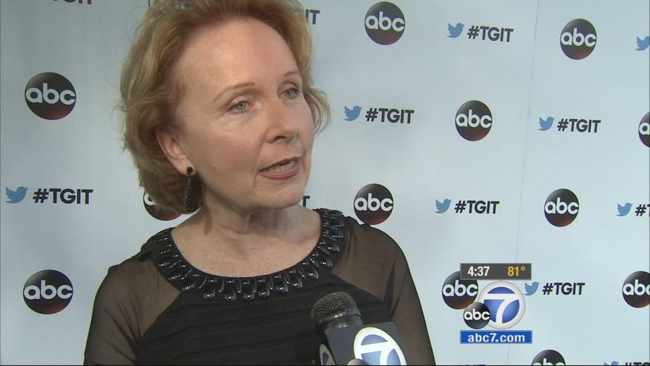 Actress Kate Burton is shown in this undated file photo.