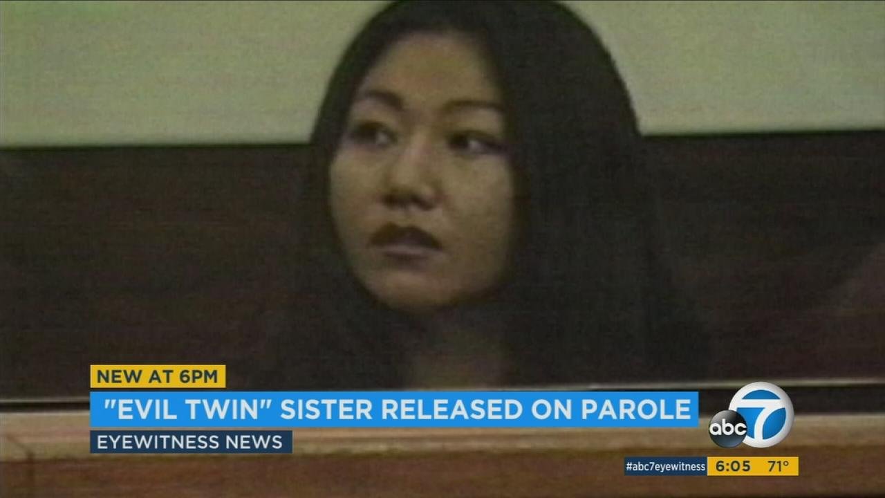 Jeen Han, convicted of plotting to kill her twin sister, has been released on parole from an Orange County womans prison.