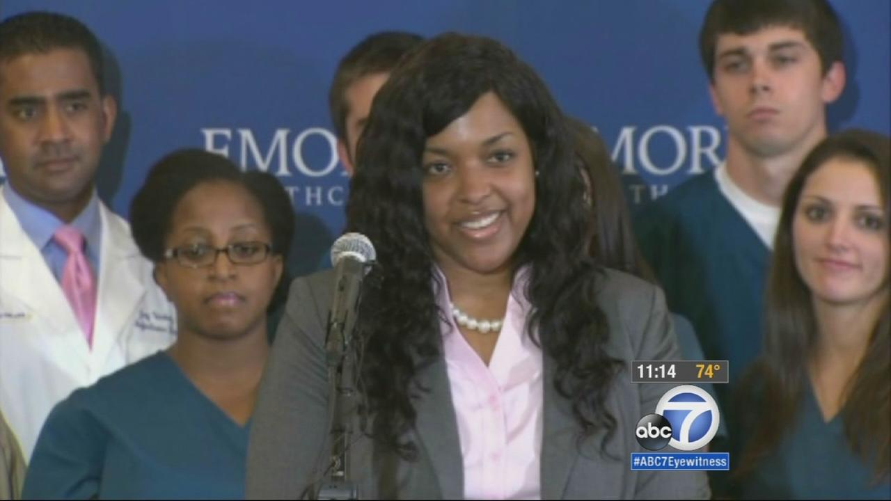 Amber Vinson, a nurse who fueled Ebola fears by flying to Cleveland after being infected by her dying patient in Dallas, is now virus-free and was released from the hospital.