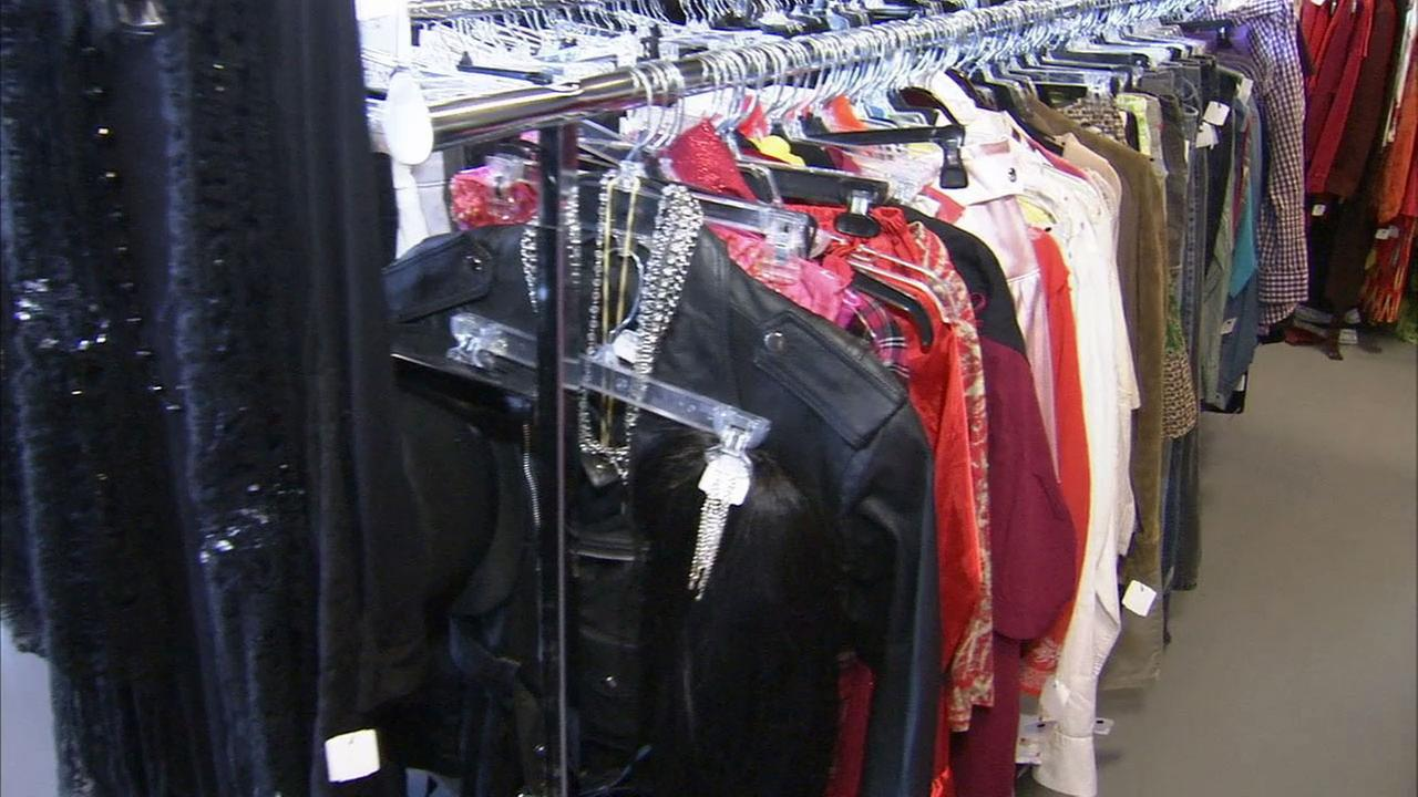 The Goodwill provides a Boo-tique with new and gently used costumes for sale during the Halloween season.