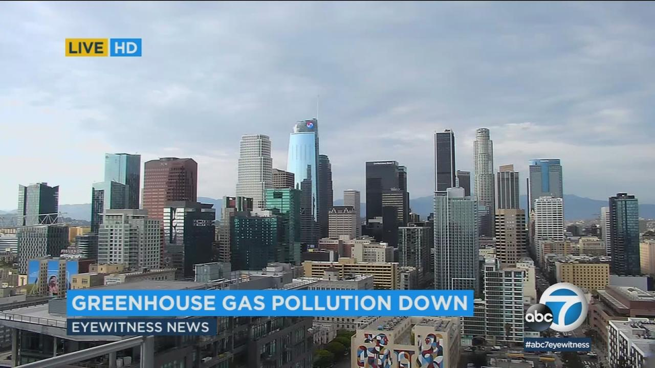 California air pollution falls below 1990 levels