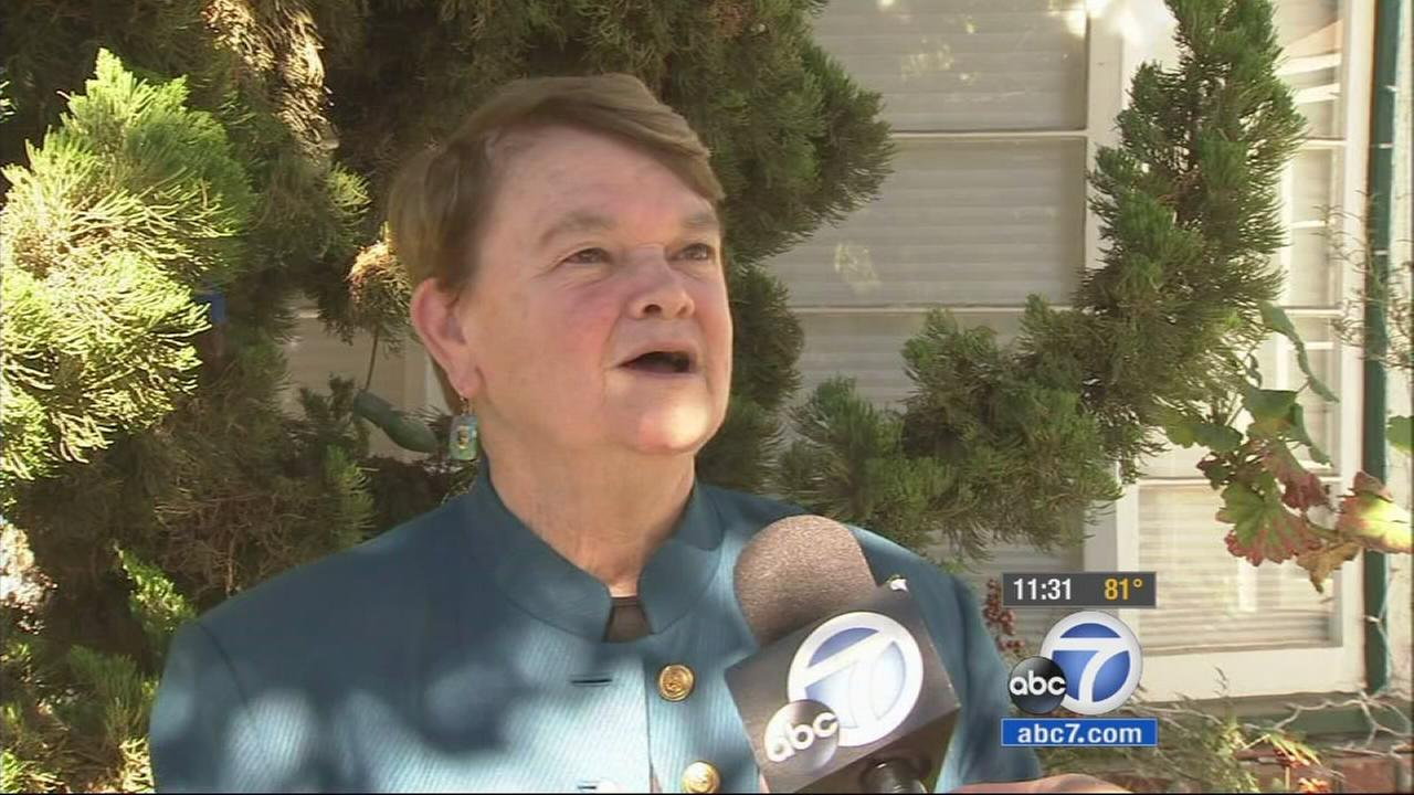 Sheila Kuehl talks to Eyewitness News on Tuesday, Nov. 5, 2014.
