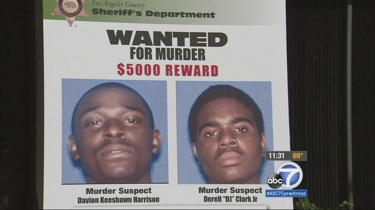 Davion Keeshawn Harrison and Derell DJ Clark Jr. are wanted in connection to the murder of tow truck driver Steven Lawson.