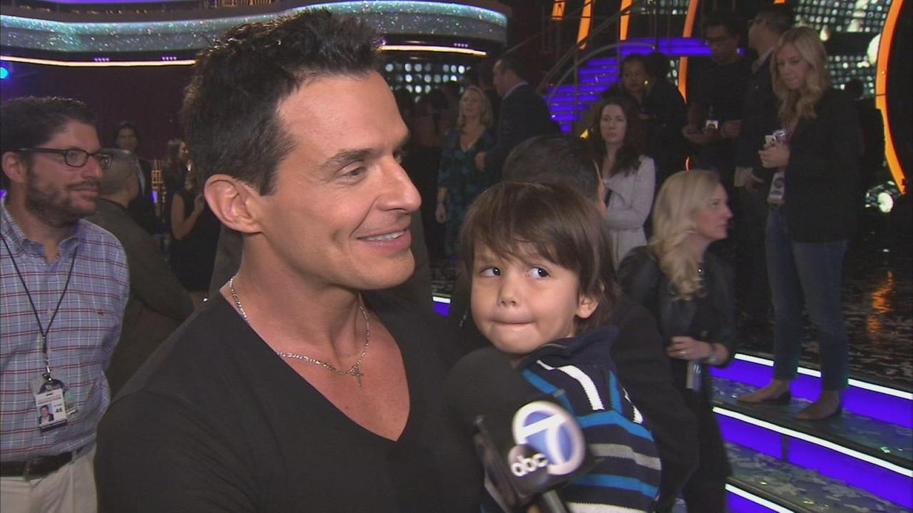 Actor Antonio Sabato Jr. talks about his relationship with his partner Cheryl Burke on Dancing With The Stars.