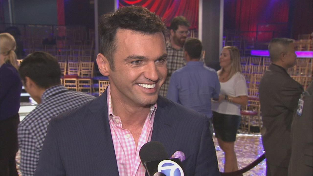Professional dancer Tony Dovolani at the Dancing With The Stars Season 19 finale on Tuesday, Nov. 26, 2014.